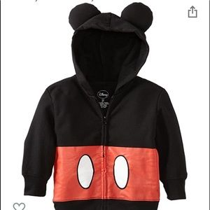Disney Toddler Mickey Mouse Hoodie
